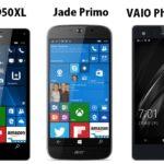 Acer Jade Primo vs VAIO Phone Biz